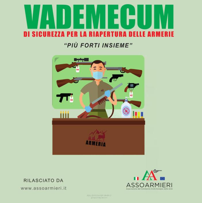 Vademecum di sicurezza per riapertura armerie - post coronavirus